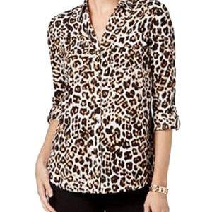 Charter Club Leopard Blouse